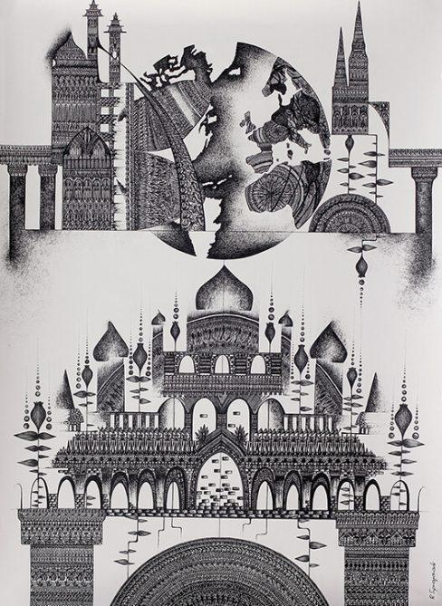 Eternal Changing Graphic Artwork