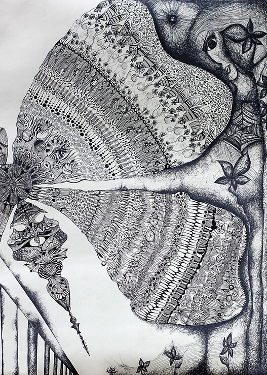 existence detailed ornamental artwork butterfly rs dimension art